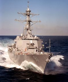 The USS Winston Churchill. A United States Navy Destroyer named for a foreign Dignitary. A rare but deserved honor