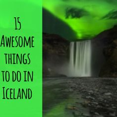 I get asked by people all the time, 'What should I do in Iceland?' - and so, here are 15 awesome Iceland things to do. Food Travel, Group Travel, Travel Around The World, Around The Worlds, Stuff To Do, Things To Do, Have A Great Night, Ski Vacation, Iceland Travel