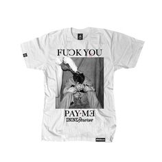Fxck You, Pay Me S/S Tee (wht)