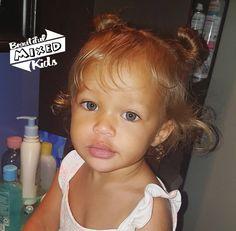 Laylen - 19 Months • Danish & African American ♥️ FOLLOW @BEAUTIFULMIXEDKIDS http://instagram.com/beautifulmixedkids