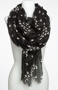 Steve Madden Scarf, I love this.  Got it in purple too!