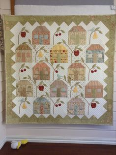 Hawkesbury Homesteads, adapted from a Laundry Basket Quilt design by Edyta Sitar. 2013.