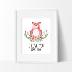 Decorate your nursery with Woodland Animal art prints for nursery walls from VividEditions. Boho Floral Art prints for kids and adults with a large selection of baby modern art decor.