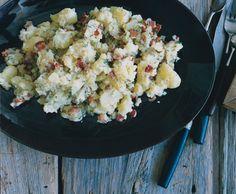 Bacon Smashed Potatoes Recipe  | Epicurious.com