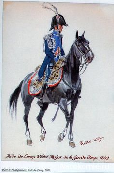 Aide de camp d'état-Major de la garde Impériale 1809