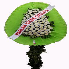 Yeşil Beyaz Çiçek