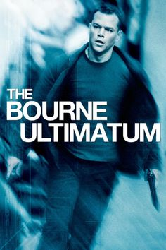 Matt Damon Julia Stiles in The Bourne Ultimatum DVD 2007 Widescreen Action the best action movies imdb Jason Bourne, Matt Damon, Film D'action, Bon Film, Drama Film, Julia Stiles, Best Action Movies, Good Movies, Action Films