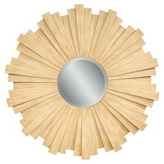 Check out this item at One Kings Lane! Tivana Sunburst Wall Mirror