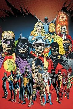Anti-Monitor comics May 2011