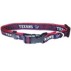 Houston Texans Collar Small