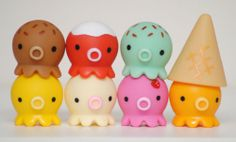 Takochu for sale! #icecream #octopus #tako #takochu #kawaii #colorful