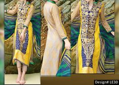 Charizma Embroidered Suit