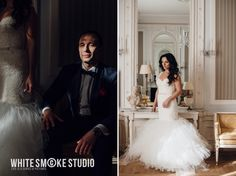 Portrait session. Ula and Mateusz and the incredible Paderewski Apartment at the Bristol Hotel, Warsaw, Poland.