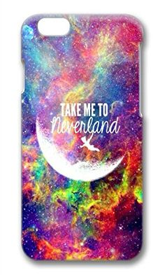 iPhone 6 Case Galaxy Space Quote Take Me To Neverland Theme Phone Case Custom Polycarbonate hard case for Apple iPhone 6 Phone Case Custom http://www.amazon.com/dp/B01427FUOC/ref=cm_sw_r_pi_dp_0Curwb1KJWCR5