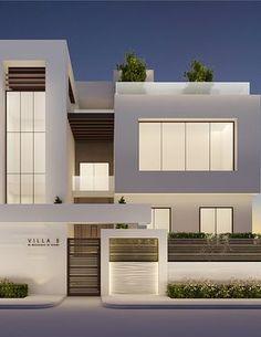 Modern Villa Exterior Design - by IONS DESIGN