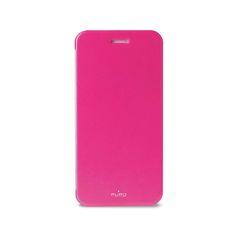 Puro Horisontalt bok-deksel for iPhone 6/6S m/speil rosa www.kabelfabrikken.no