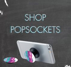 PopSockets are small collapsible grips that attach to the back of your phone or case making it easier to hold. -Courage Kenny Rehabilitation Institute