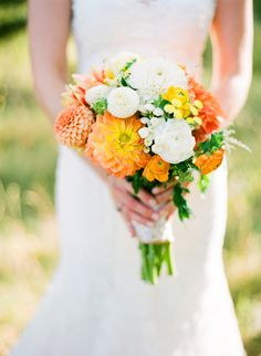 Photography by James Christianson - Real Colorado Wedding - Plum Sage Flowers - Dahlia wedding bouquet