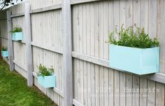 Exterior : Stunning Garden Fencing Ideas In Grey Paint Color Also ...
