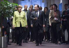 Merkel y Hollande piden una cumbre europea extraordinaria para el martes