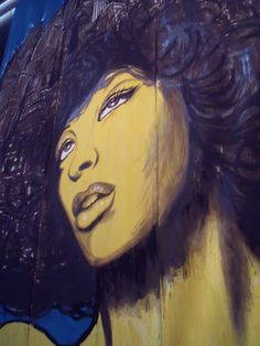 Head shot Print/Graffiti - Winterthur Switzerland