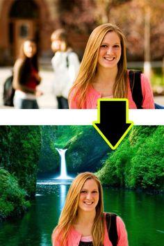 Change background image online without using photoshop
