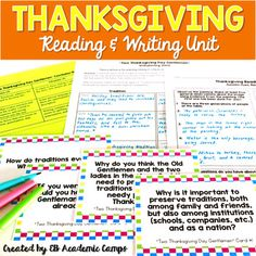 This Thanksgiving mini-reading unit for Middle School and High School students is perfect to use in the week or two leading up to Thanksgiving break. Students will warm-up with a critical observation of Norman Rockwells iconic Thanksgiving Day painting, Freedom From Want.