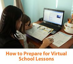 """""""6 Steps to Preparing for Virtual School Lessons"""" from Connections Academy online school. Pin to Prepare—Create a Pinboard of """"Cool Tools for Online School"""" for a Chance to Win!   #onlinelearning #timemanagement #onlineschool"""