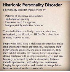 histrionic relationship