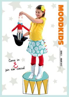 All about the circus the new issue of MoodKids Magazine!