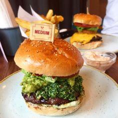 Fck yeah  @gbkburgers #gbk #gbkburgers #burger #fries #chunkyfries #hungry #foodie #food #foodpics #foodporn #burgertime #burgerporn #burgertime #weekday #supper #dinner #foodstagram #pesto #beef #munch #yummy #nomnom #mmm #sogood