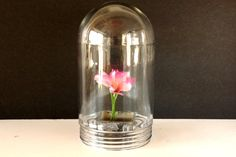 Vintage Industrial Clear Glass Light Dome Explosion by ThirdShift