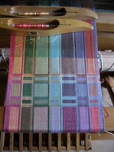 Handwoven Scarf Silk Hand Dyed Doubleweave by tisserande on Etsy, $200.00