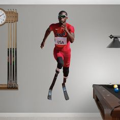 Blake Leeper chosen for the first Fathead poster of an athlete with a disability.