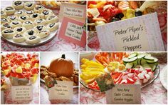 nursery rhyme themed baby shower food 2