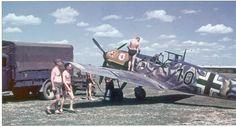 Me-109E4 JG/77 Black 10 Balkans, May 1941
