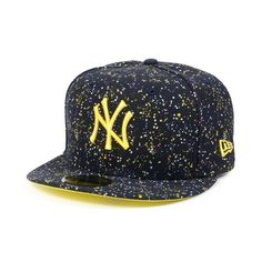 d790bfe7 New Era 59fifty Yankee Splatter Dot New Era 59fifty, Ny Yankees, Snapback,  Baseball