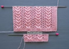 Baby Knitting Patterns, Knitting Stiches, Easy Knitting, Knitting Designs, Baby Patterns, Stitch Patterns, Sewing Projects For Beginners, Knitting For Beginners, Knitting Tutorials