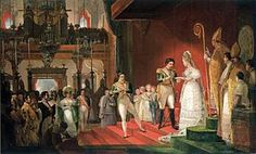 Marriage of Pedro I to Amélie of Leuchtenberg. Next to him, in order of precedence, are his children with Maria Leopoldina: Pedro, Januária, Paula and Francisca