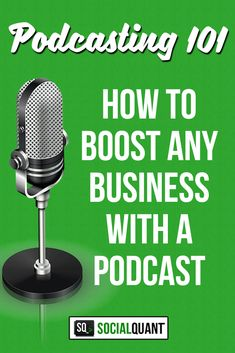 Podcasting 101 shows you how ANY business can leverage the popularity of podcasts by adding them into your content marketing for more traffic and leads.