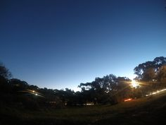 The Downs at Dust. Wembley Downs Perth. 2 second exposure 12mp Go Pro