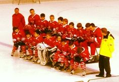 My sons and their hockey team