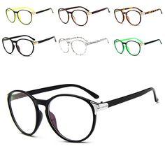Cheap clear lens round, Buy Quality retro eyeglasses directly from China retro style eyeglasses Suppliers: Unisex Stylish Glasses Cute Style Vintage Women Clear Lens Round Frame Retro Eyeglasses Oculos Femininos Gafas