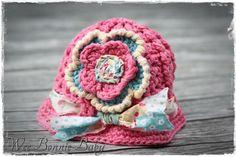Chunky Summer Brim Hat -  Pink  Paris Brim Hat, Beanie Hats, Pink Paris, Crochet Accessories, Boy Or Girl, Colours, Summer, Flap Hat, Summer Time