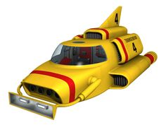 Thunderbird 4 - 02 by on DeviantArt Space Junk, Thunderbirds Are Go, Science Fiction Series, Programming For Kids, Cartoon Tv, Music Is Life, Concept Cars, Childhood Memories, Super Cars