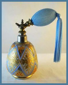 Image detail for -Sherry's Antique Perfume Bottles - Vintage Perfume Atomizers -