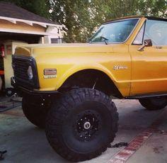 72 K5 Blazer. Gm Trucks, Cool Trucks, Cool Cars, Chevy Blazer K5, K5 Blazer, Redneck Trucks, Bike Gadgets, Classic Chevy Trucks, Chevrolet Trucks