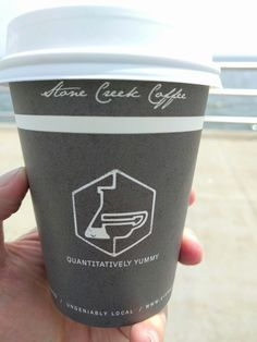"""Stone Creek Coffee in Milwaukee is """"quantitatively yummy."""" And just as great is grabbing a hot cuppa from the Milwaukee Art Museum and watching Lake Michigan roll in from the sun."""