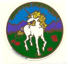 I had this Unicorn Sticker