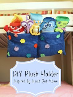 DIY Plush Holder, inspired by Inside Out Movie